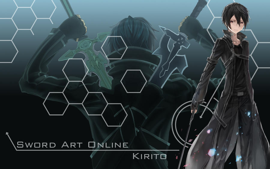 Sword Art Online - Kirito Wallpaper by Yugoku-chan on ...