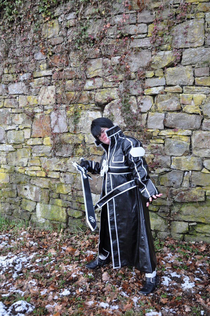 Sword Art Online - Kirito Cosplay 2 by Yugoku-chan