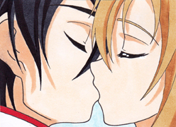 #59 - Kissing Kirito and Asuna by Yugoku-chan