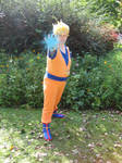 Son Goku Super Saiyan Cosplay by Yugoku-chan