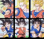 Son Goku cacoa cards set - Part II