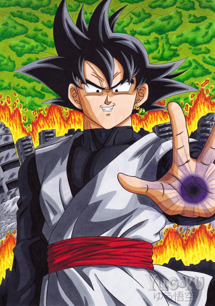 Black Goku - The enemy of the future by Yugoku-chan