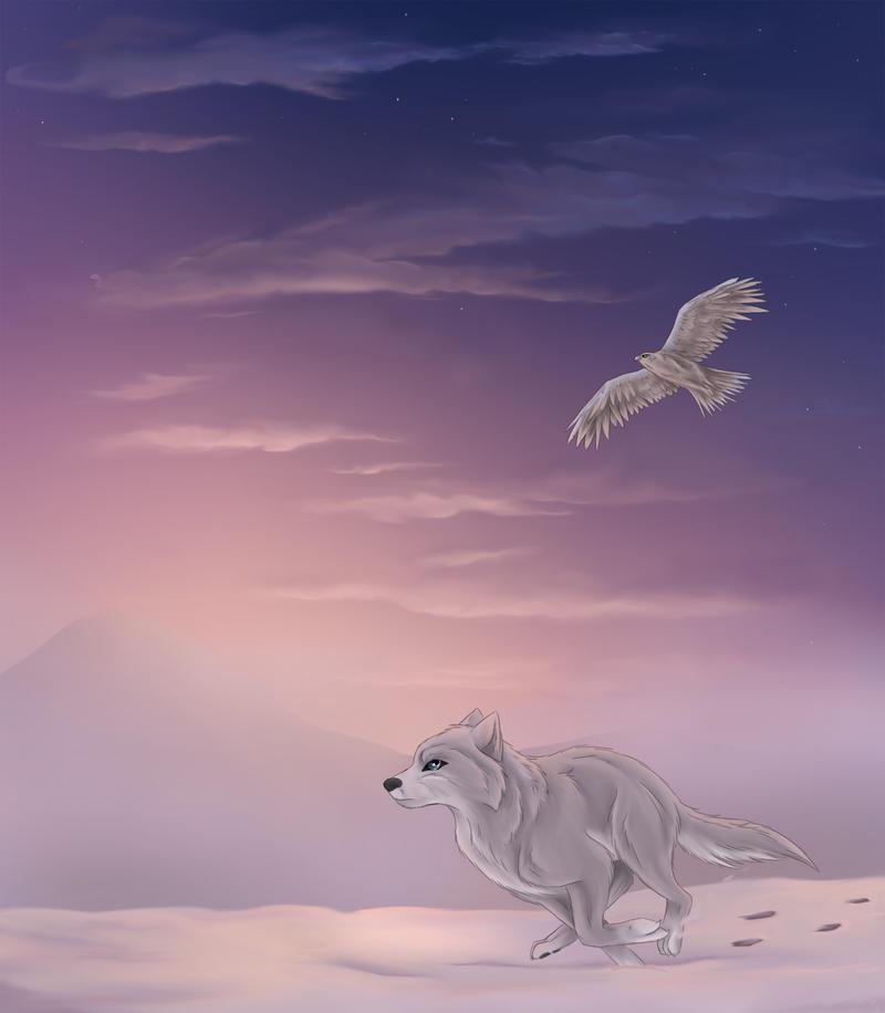 the lilac dawn by true-crystalwolf