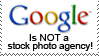 Google is not stock