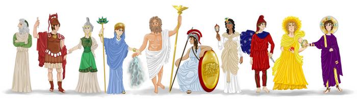 Gods of Rome by Pelycosaur24