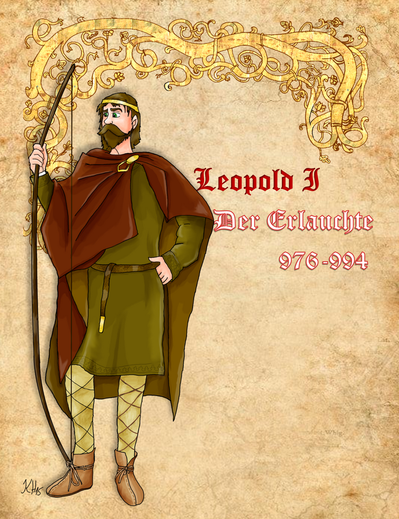 Leopold the Illustrious of Austria by Pelycosaur24