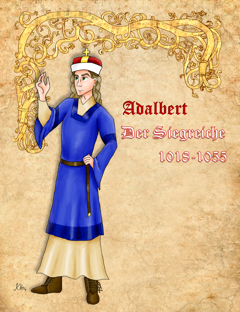 Adalbert the Victorious of Austria by Pelycosaur24