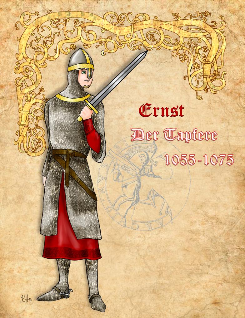 Ernest the Brave of Austria by Pelycosaur24