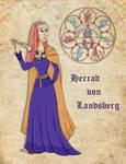 Medieval Scientist Herrad von Landsberg