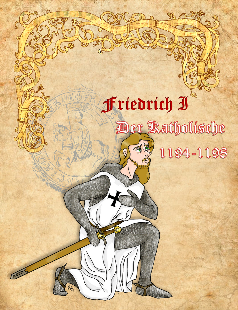 Frederick the Catholic of Austria by Pelycosaur24