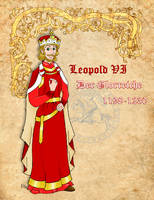 Leopold the Glorious of Austria by Pelycosaur24