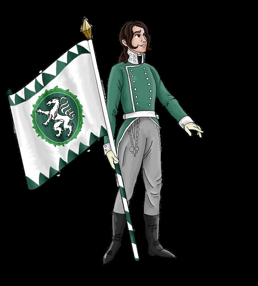 Self-Portrait as Napoleonic Landwehr Soldier by Pelycosaur24
