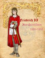 Frederick the Douchebag of Austria by Pelycosaur24