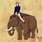 Georges Cuvier and his Mastodon