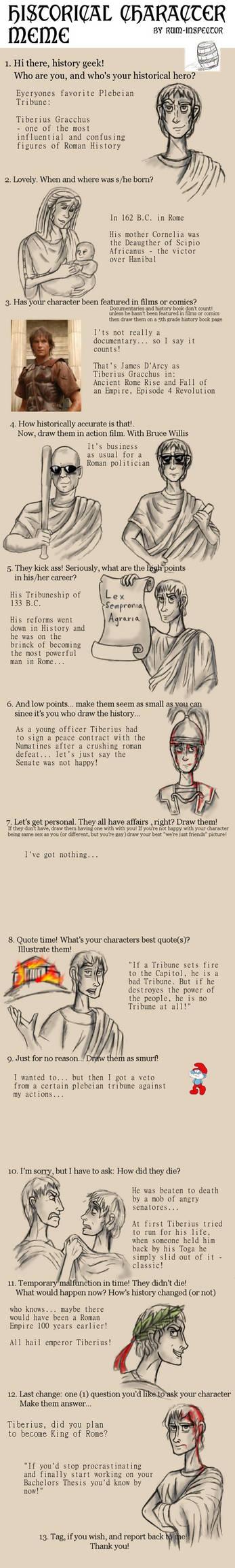 Historical Character Meme: Tiberius Gracchus