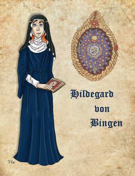 Medieval Scientist Hildegard von Bingen