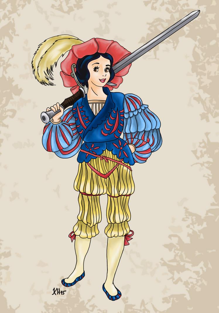 Historical Disney Warrior Princess - Snow White by Pelycosaur24
