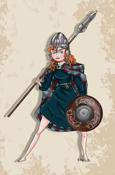Historical Disney Warrior Princess - Merida