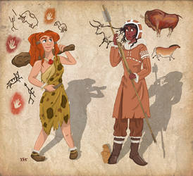 Stone Age - Stereotype vs Reality by Pelycosaur24