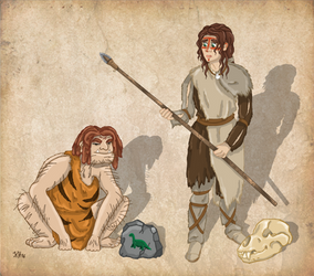 Stone Age - Stereotype vs Reality: Neandertals by Pelycosaur24