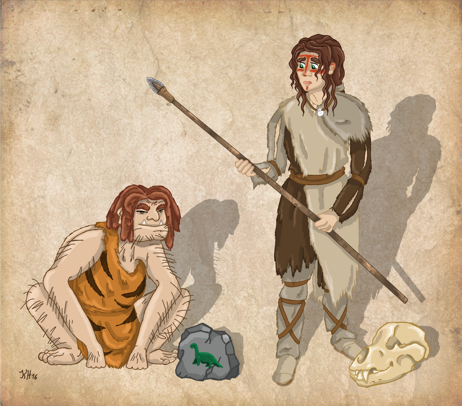 Caveman Quiz : Stone age stereotype vs reality neandertals by
