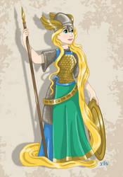 Historical Disney Warrior Princess - Rapunzel