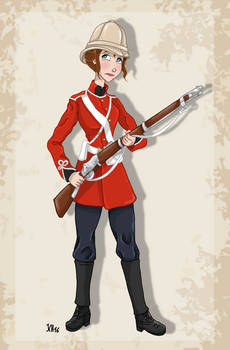 Historical Disney Warrior Princess - Jane