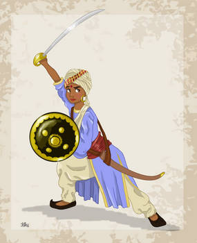 Historical Disney Warrior Princess - Shanti