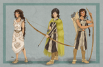 Ultzuchisura - Character Design by Pelycosaur24