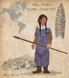 Stone Age 101 - Clovis by Pelycosaur24