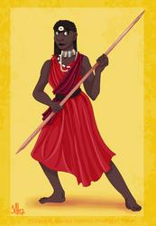 Historical Disney Warrior Princess - Nala
