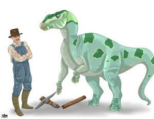 Charles Hazelius Sternberg and his Hadrosaurus