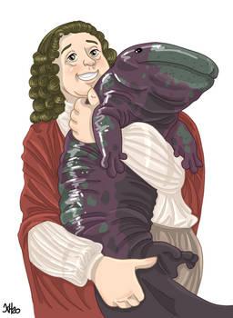 Johann Jakob Scheuchzer and his Salamander