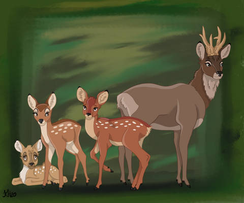 Accurate Bambi Characters