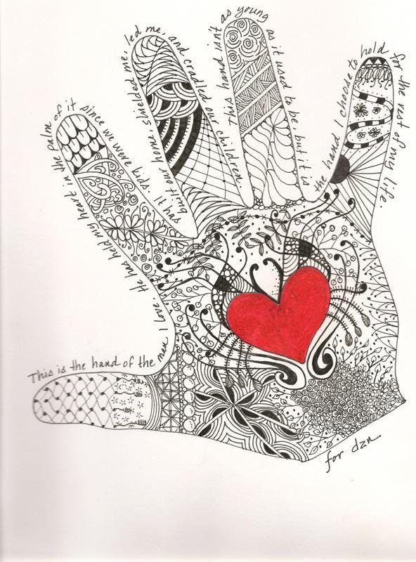 Handprint - Dan by DragonflysDaughter