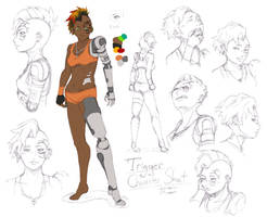 Trigger Character Sheet by Bobo-Kitty