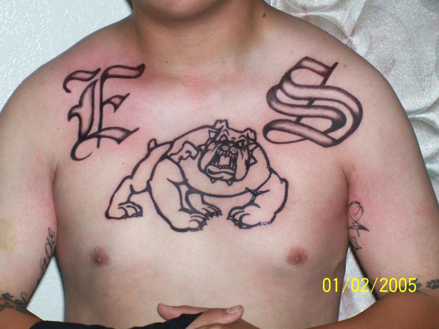 Bulldog es fresno by doneventrip1 on deviantart for Best tattoo shops in fresno