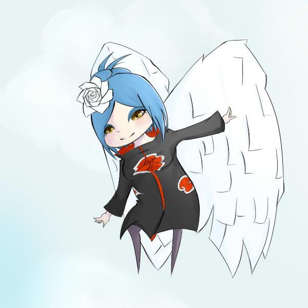 Konan chibi by sempi-is-an-angel