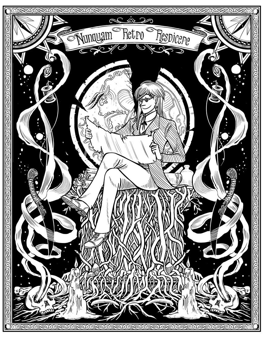 Quix de Tellou Victorian Poster by kalkie