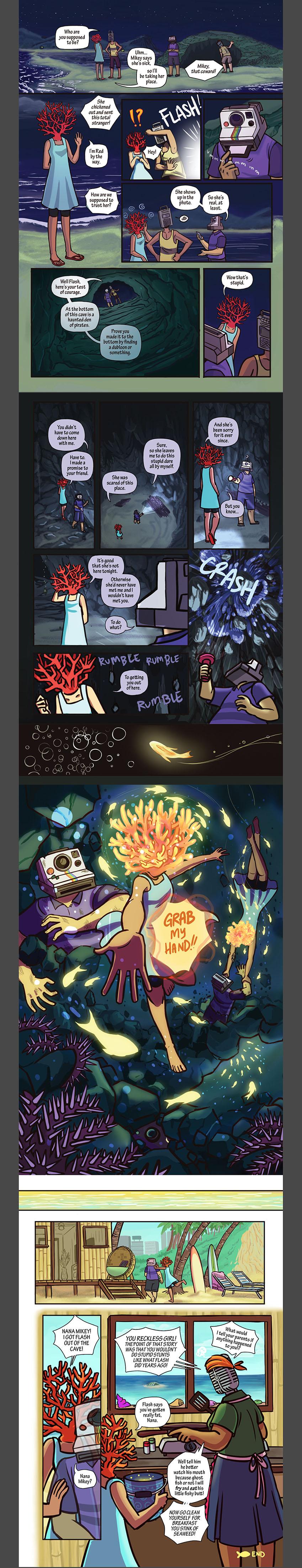 2017 Spooky Objecthead Zine by kalkie