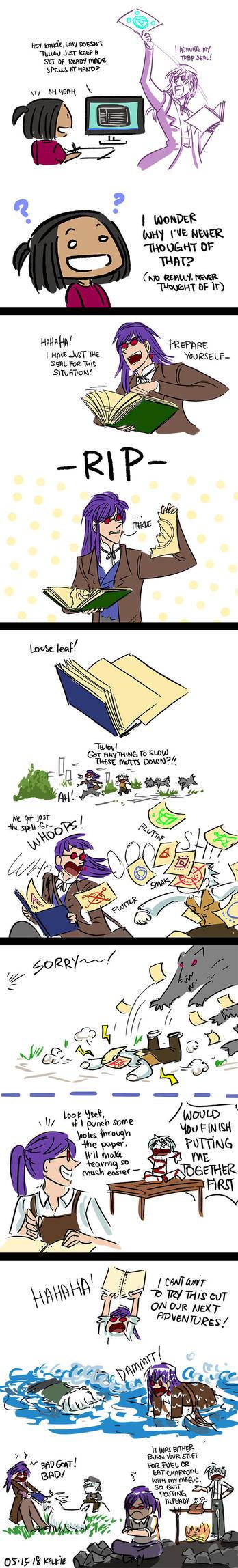 Paper Magic by kalkie