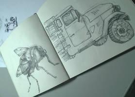 random sketch by Krains