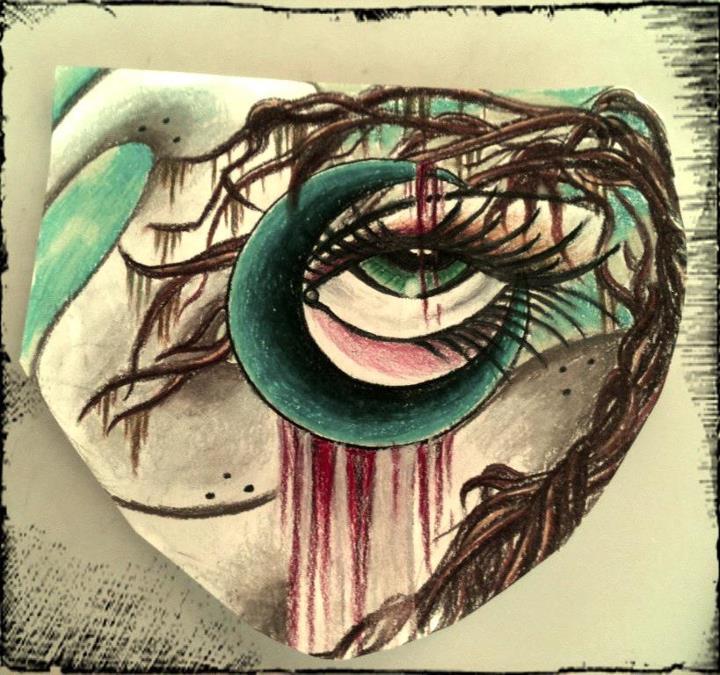 Moon Eye by VoodooKatTattooer