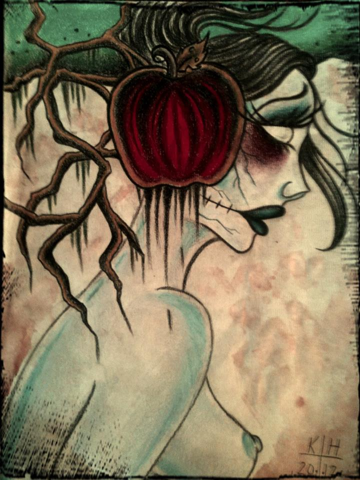 Poison Apple by VoodooKatTattooer