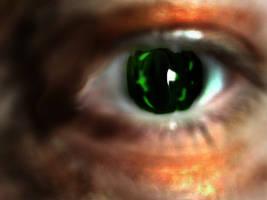 Dark eye by Wass