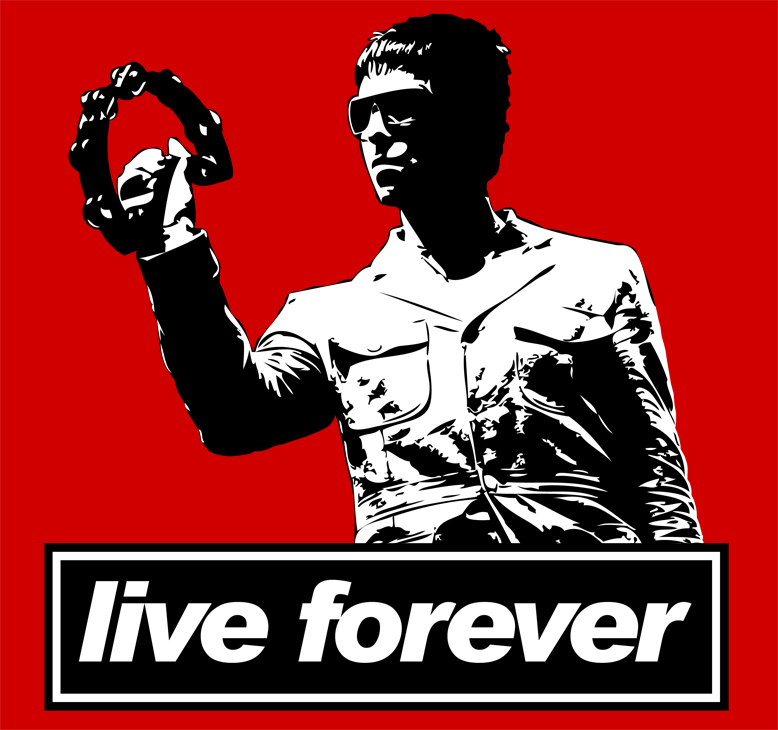 Liam Gallagher - Live Forever  Oasis Live Forever Wallpaper