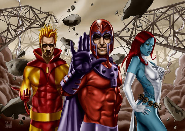 Magneto, marvel villains by davidbenzal