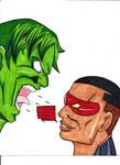 Ignition vs Hulk by finalknight0x3