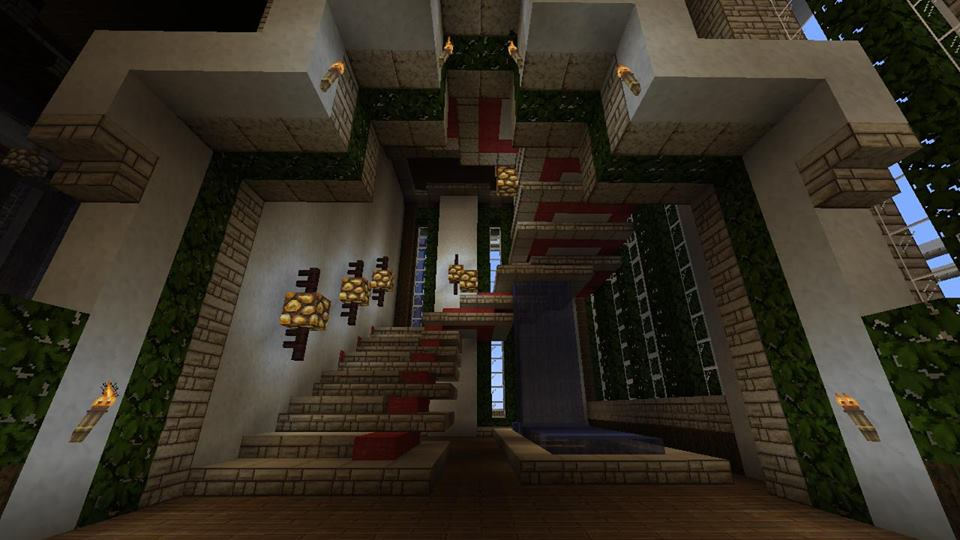 Minecraft Castle Staircase : Images about minecraft on pinterest