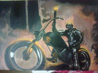 ghost rider.. by ashvin329